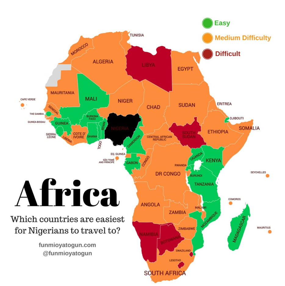 Why Is It So Hard for Africans to Visit Other African ...
